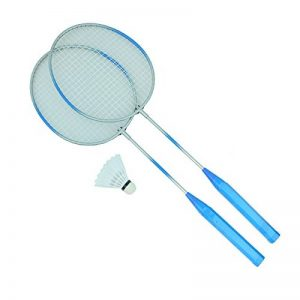 Bid Buy Direct® Premium Quality set da badminton racchette e volano. Leggero e stabile | per professionisti e principianti – Set completo in una rete., Blue de la marque Bid Buy Direct® image 0 produit